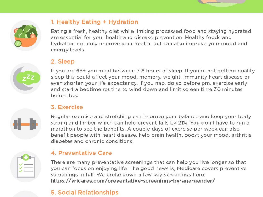 6 Things You Can Start Doing Today for Healthy Aging